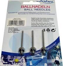 Ballnadeln John® 3 Stück für Ballpumpen