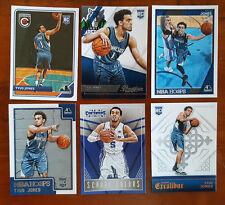 Tyus Jones - 6x different card LOT Panini - Minnesota Timberwolves ROOKIES