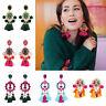 Bohemian Earrings Handmade Tassel Ear Stud Boho Earring Fashion Jewelry Gifts