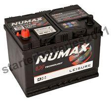 Numax LV22MF Heavy Duty Maintenance Leisure Marine Battery 75ah