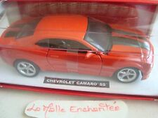 miniature CHEVROLET CAMARO SS 1/24° 19 cm long new in box