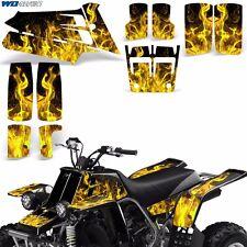 Decal Graphic Kit Yamaha Banshee 350 ATV Quad Decal Wrap Parts Deco 87-05 ICE Y