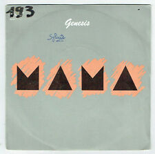 "GENESIS Vinyl 45 tours 7"" SP MAMA - IT'S GONNA GET BETTER - VERTIGO 814219"