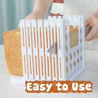 Bread Loaf Bread Sandwich Skiving Machine Cutter Mold Maker Kitchen Guide