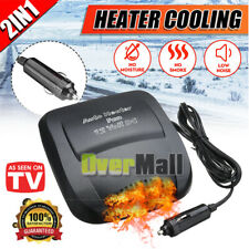 Car Auto Ceramic Heater High Power Fan Demister Portable Defroster Heating Warme