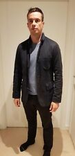 Da Uomo Navy Blue Smart/Casual Jacket-Reiss. Taglia Media Rrp £ 200