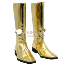 Super Sentai gold cos Cosplay Shoes Boots