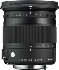 Sigma 17-70mm F2.8-4 Contemporary Macro OS Lens for Canon. U.S Authorized Dealer