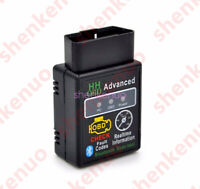 OBDII Scanner Code Reader Bluetooth CAN OBD2 Scan Tool for Android ELM327 XGBT