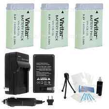 3X NB-13L NB13L Replacement Battery + Charger for Canon PowerShot G7X G9X SX730