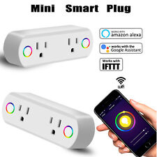 Smart Plug WiFi Socket Outlet  Remote Control Switch US Timer Alexa Google Home