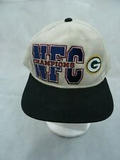 Vintage Starter Green Bay Packers Snapback Hat Cap NFC Champions NFL Football