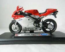 MV AGUSTA F4S DIE-CAST MODEL MOTORBIKE SCALE 1:18, WELLY MODEL BIKE