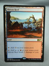 Pain Land M15 EX//NM MTG Magic the Gathering Card X1 Shivan Reef