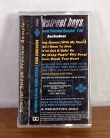 RARE Backstreet Boys Special Sneak Preview Sampler PROMO Tape Cassette 1997 Jive
