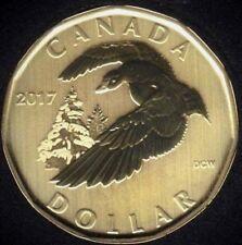 Canada 2017 Snow Goose Loonie Specimen Gem UNC Dollar!!