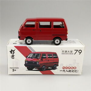 1/64 Scale Toyota DAIHATSU China Tianjin Huali TJ110 Red Diecast Car Model Gift