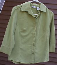 Woman's Green Blouse by Apparenza; Size:  S