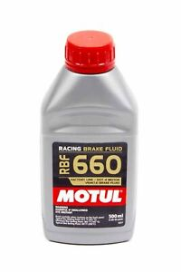 Allstar Brake Fluid - Motul 660 - DOT 4 - 500 ml - Each 78118