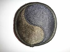 US Army 29th INFANTRY DIVISION Merrowed Edge Subdued Patch