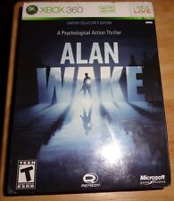XBOX 360 Alan Wake Limited Collectors Edition Sealed game L@@K!