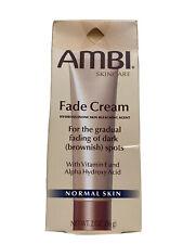 AMBI SKINCARE Fade Cream 2%Hydroquinone Skin Bleaching Agent Normal Skin 56Grm