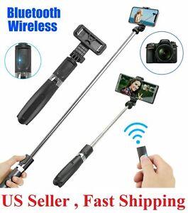 Selfie Stick Tripod Remote Shutter Extendable Monopod For iPhone 11 Pro Max/XR/X