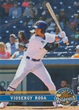 2017 Midland RockHounds Viosergy Rosa RC Rookie Oakland Athletics