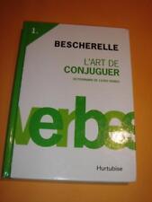 L'ART DE CONJUGUER - BESCHERELLE Dictionnaire 12000 Verbes Francaise HC 2012