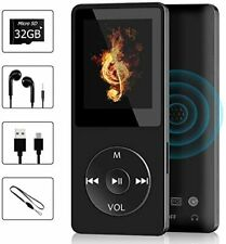 32GB! Wodgreat MP3 Music Player HIFI Sound Multifunctional with FM & Voice Rec