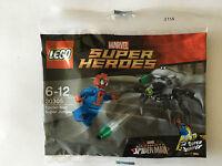 LEGO MARVEL SUPER HEROES SPIDER MAN SUPER JUMPER POLYBAG N° 30305 NEUF SCELLE