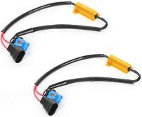 Wire LED Resistor Canceler Error Decoder 9006XS HB4A Head Light Bulb Flicker Fix