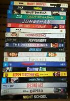 Lot of 20 BluRay Discs All with Slipcovers No DVDs No Digitals Great For Resale