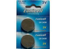 2 x Eunicell CR2430 3V Lithium Coin Cell Battery DL2430 K2430L ECR2430