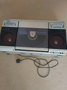Sharp Vz2000 ghettoblaster - vintage 80's