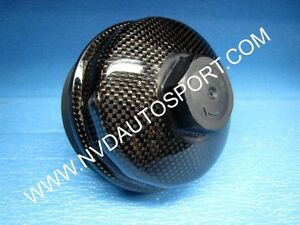 BMW E60 Carbon fiber Oil Filter Cover skinning from NVD Autosport