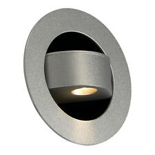 Intalite Nuevo Película LED empotrado Lectura Luz ,Plata, 3w LED, 3000k, AZUL