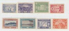 TURKEY 1917 - 1918  ISSUE UNUSED FULL SET MICHEL 629/36 = ISFILA 880/87