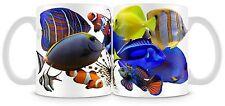 Marine fish Mug Clown Lion Bangaii Surgeon Regal Naso Achilles Nemo Dory