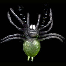 Funky Giant TARANTULA SPIDER PENDANT NECKLACE Witch Amulet Costume Jewelry-GREEN