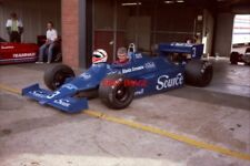 PHOTO  RICHARD PEACOCK SITS IN THE EX-MICHELE ALBORETO TYRRELL 010-DFV  HSCC SIL