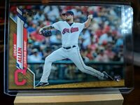 2020 Topps Series 1 Logan Allen Rookie Gold Parallel 774/2020 Cleveland Indians