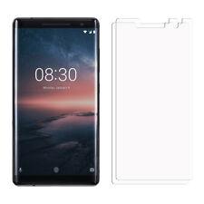 2 frontal transparente Nokia 8 Scirocco Lámina Film Protector de Pantalla LCD