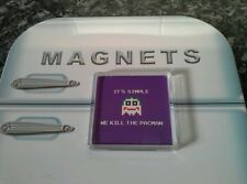 It's Simple We Kill The Pacman Fridge Magnet NEW. Joker 8 Bit. Batman, Gaming