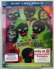SUICIDE SQUAD-TARGET 3 DISC LENTICULAR DIGIBOOK-BLURAY/DVD/HD-ROBIE SIGNED-NEW!!