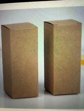 90 pcs Lot 5 ml Brown Kraft Paper gift Box Lipstick Perfume 28x28x70mm
