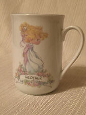 Precious Moments Name Mug Heather Personalized Cup 1991