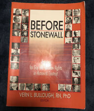 Before Stonewall [Haworth Gay & Lesbian Studies]