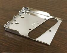 Fender Telecaster Bridge Plate w/Hybrid DBL Notches & use with a Bigsby Vibrato