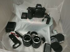 Nikon Z 6 Mirrorless Digital Camera 24.5Mp Z6 Body and misc accessories.
